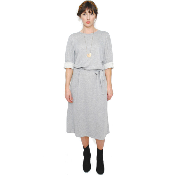 Curator Billie Dress - Heather Grey