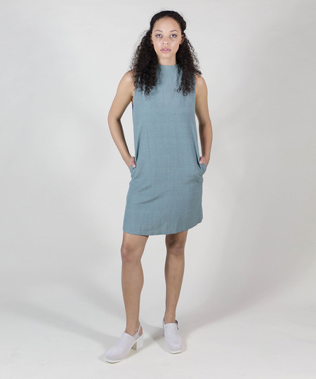 Kaarem Dust Speckled Sleeveless Dress