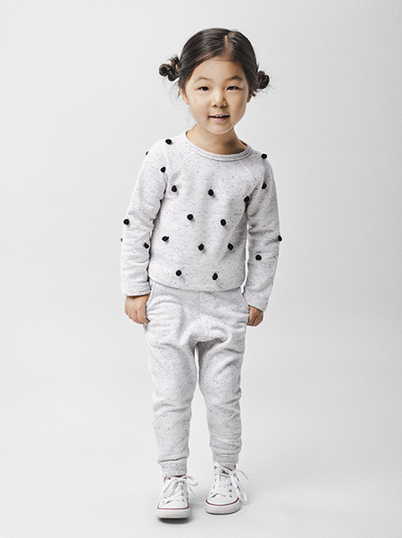 Beru Kids Kendall Pom-Pom Sweatshirt