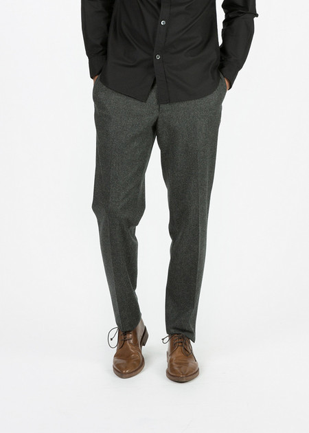 Margaret Howell Slim Soft Wool Trouser