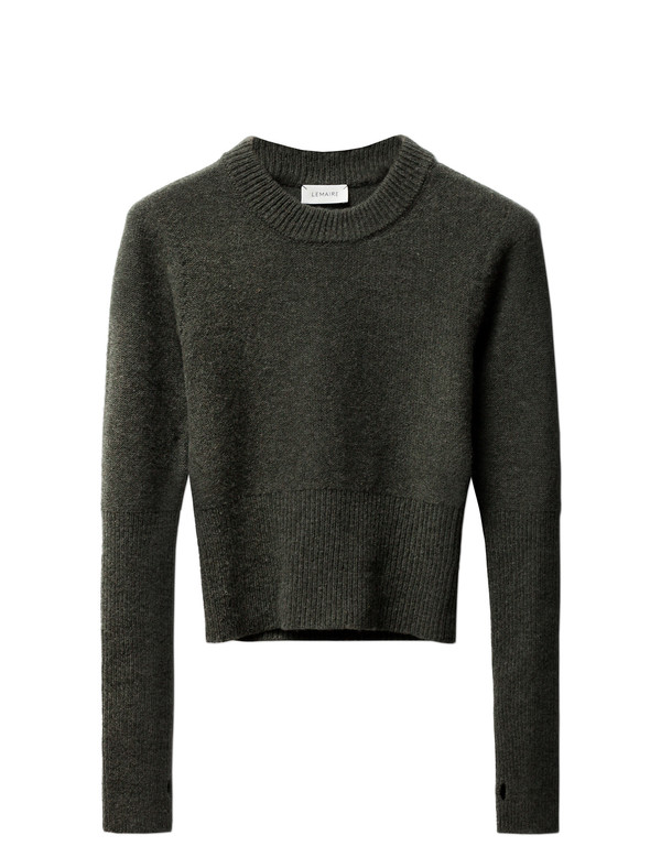Lemaire Short Sweater Spruce