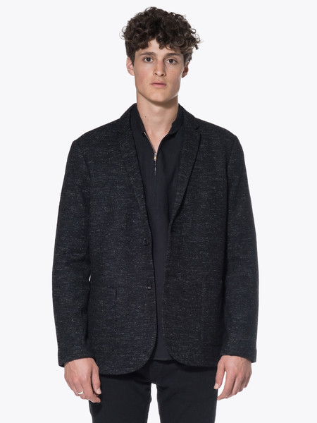 Men's Wings + Horns Marbled Wool Blazer