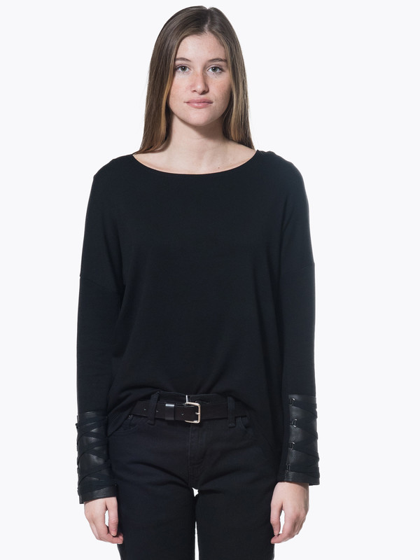 Generation Love Robyn Lace Up Top