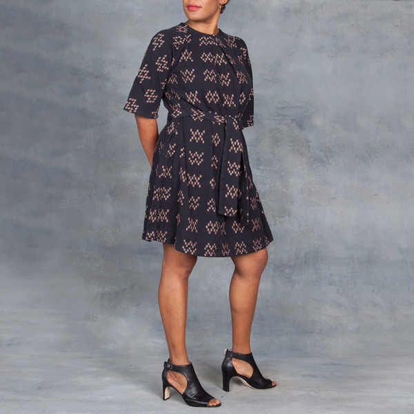Ace & Jig Beatrice Dress Black Sampler