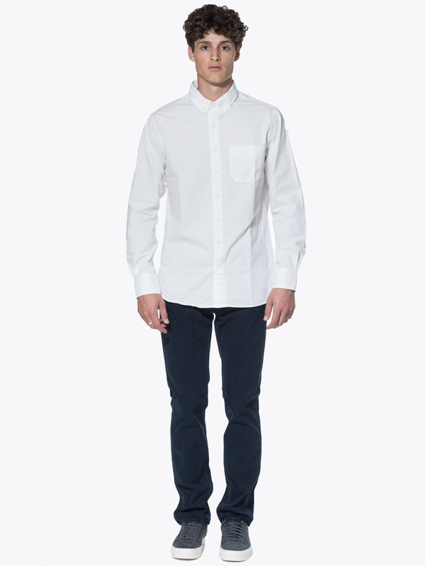 Men's Wings + Horns Woven Cotton LS BD Shirt