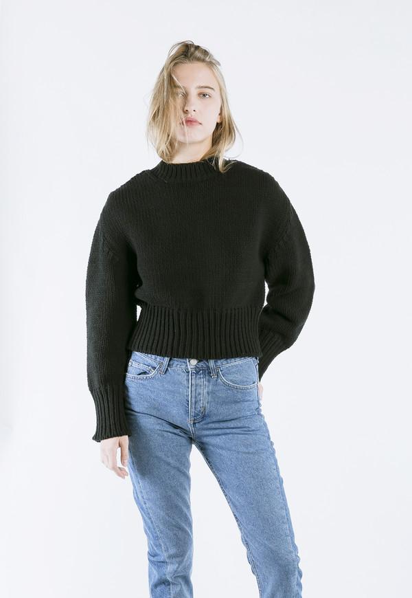 ROCKET X LUNCH Chunky Knit in Black