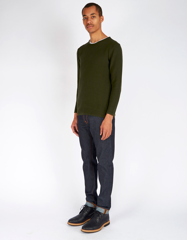 Men's Minimum Reiswood Sweater Racing Green