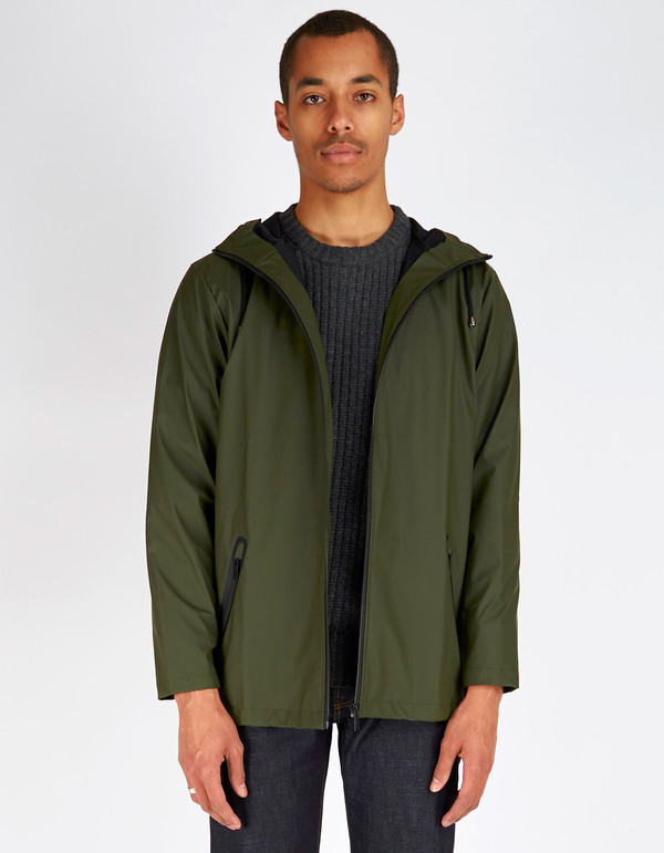 Unisex Rains Breaker Jacket Men's Green