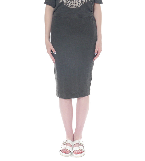 Raquel Allegra Jersey Pencil Skirt