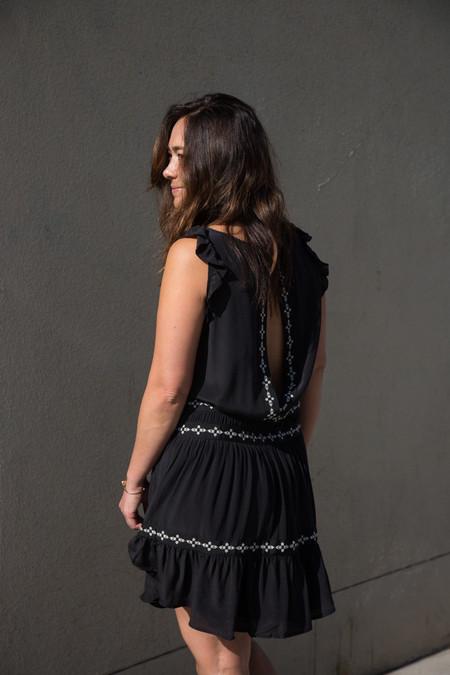 flannel montmartre dress
