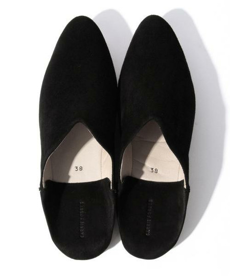 Carrie Forbes Babouche Slipper - Black