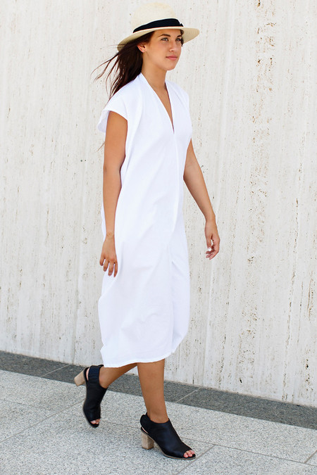 Miranda Bennett Cotton Gauze Everyday Dress