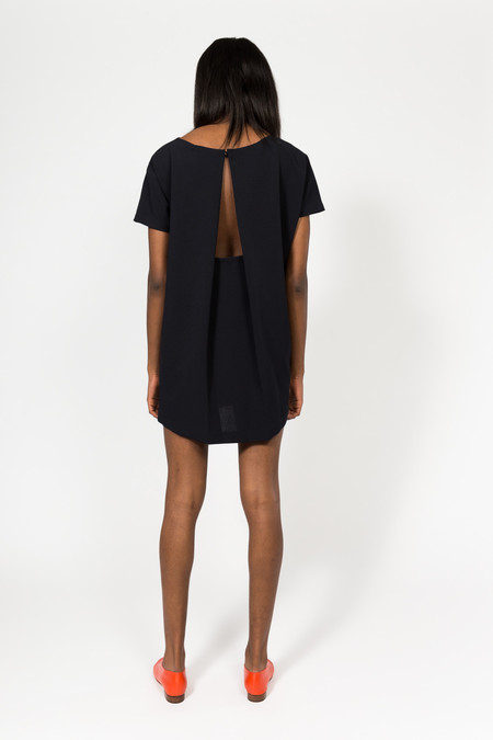 KAAREM Angle Mini Dolman Open Back Dress