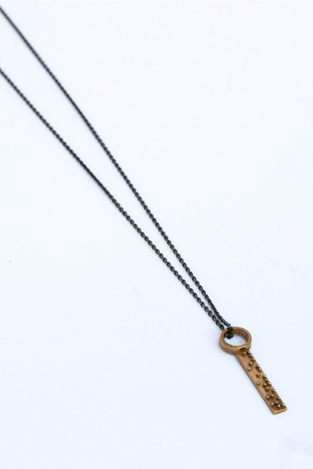 Covet + Keep Lena Necklace - Bronze