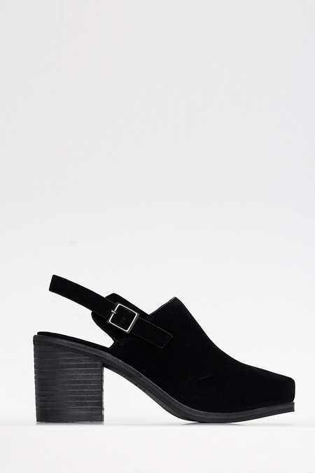 Intentionally Blank HONCHO Black Suede