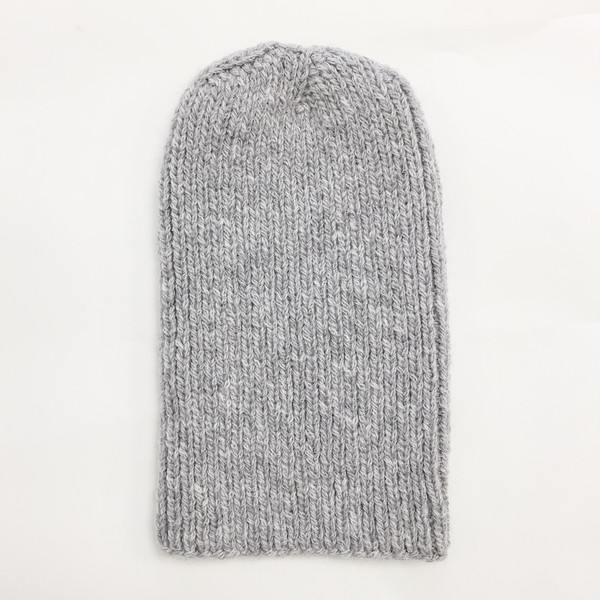 Johan Light Grey Alpaca Hat