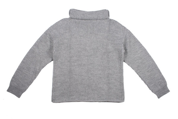 Micaela Greg Funnel Neck Sweater