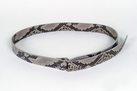 Clyde D Ring Belt in Python