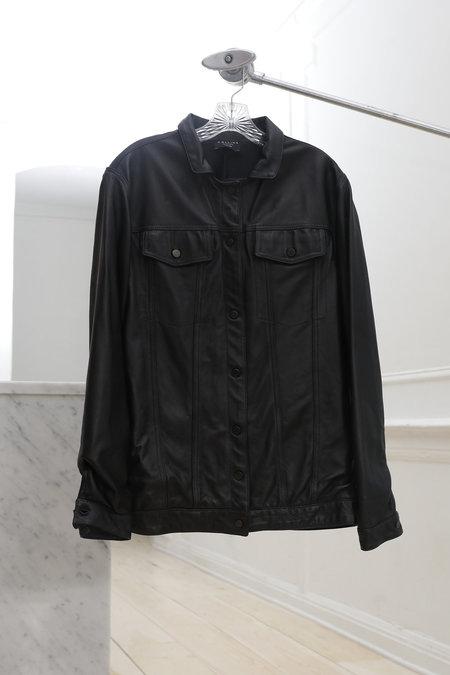 Collina Strada Dollhouse Jacket Black Leather