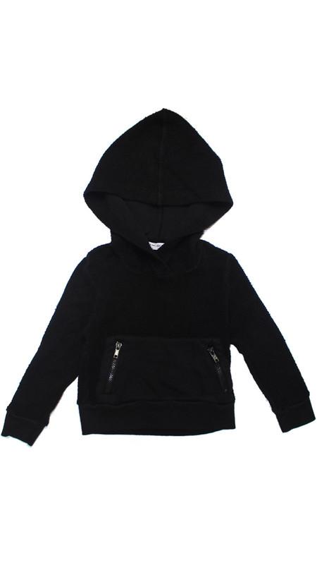 Puffy Pullover Hoodie - Black