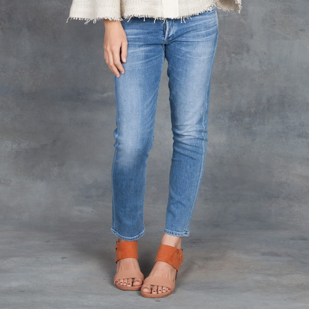 Citizens of Humanity Elsa Mid Rise Denim in Pacifica