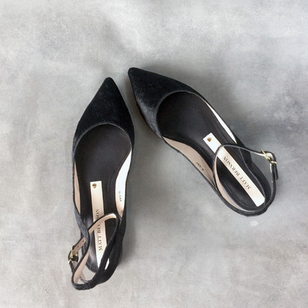 Matt Bernson Zola Black Pointed Flats