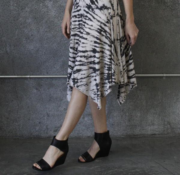 Raquel Allegra Tie Dye Handkerchief Dress