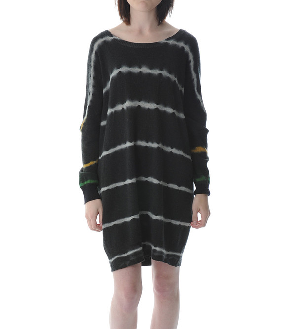 Raquel Allegra Oversized Tie Dye Dress