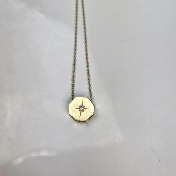Mercurial NYC Octagon Necklace