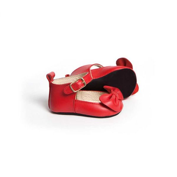 Little Lulu's Red Charlotte Mary-Janes