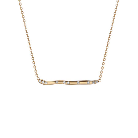 Shahla Karimi 14K Gold Subway Necklace - Yankee Stadium to Wall St
