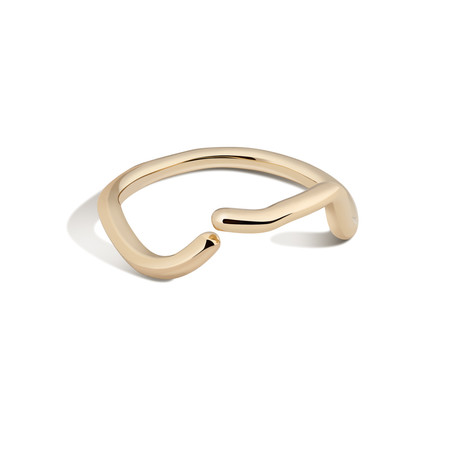 Shahla Karimi 14K Gold Subway Ring - Inwood to World Trade Center