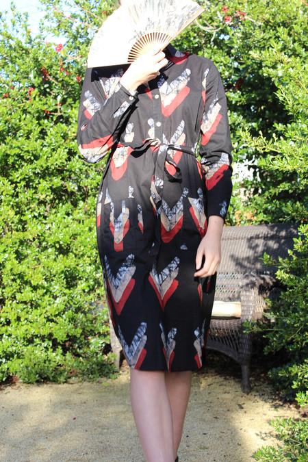 Osei-Duro Osei Duro Causa Dress Chevrons