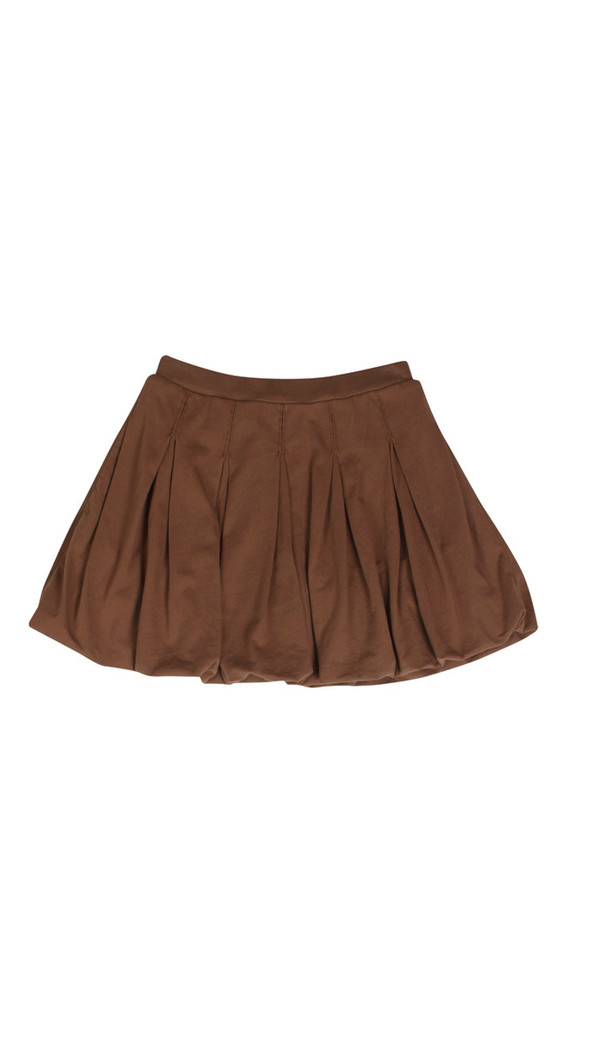 Kid's Mimobee Bubble Bubble Skirt - Cocoa