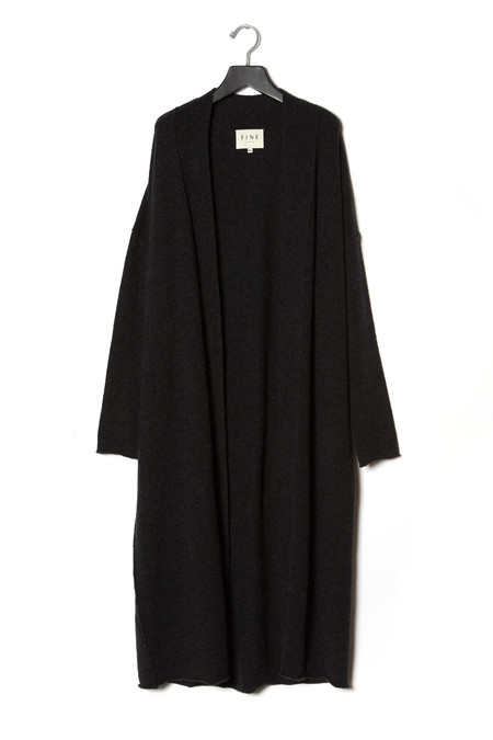 Fine Collection Elongated Cardigan