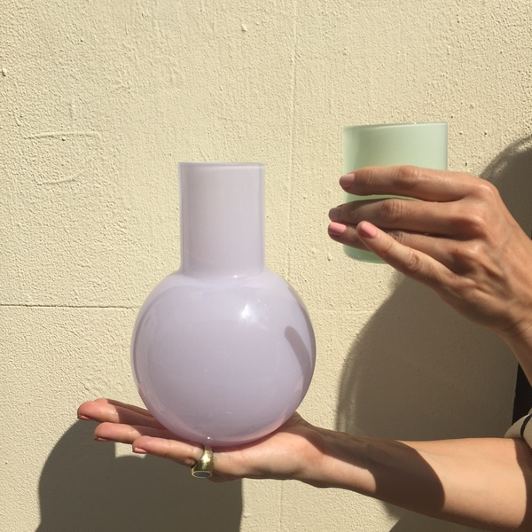 Anna Karlin Studios Glass Carafe