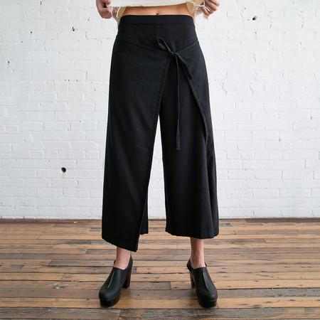Black Crane Folding Pant Black