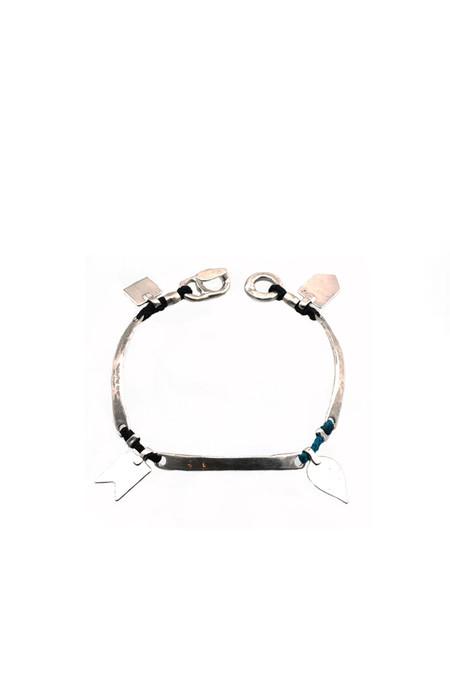 Scosha Sterling Silver Charm Bracelet