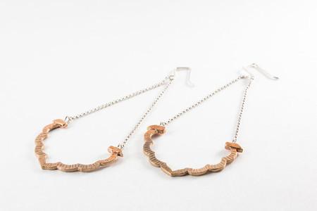 Sarah A. Sears Edie Earrings (Bronze)