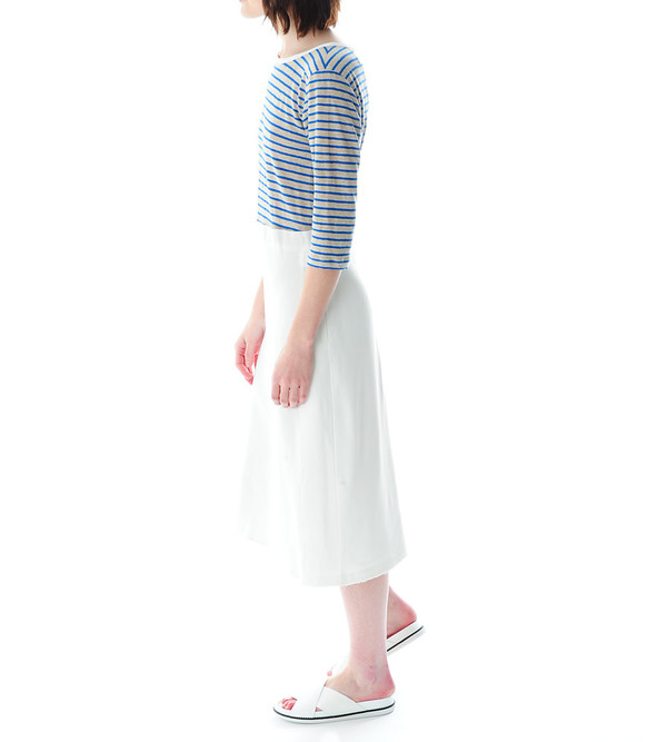 Sea NY Stripe and Crepe Dress
