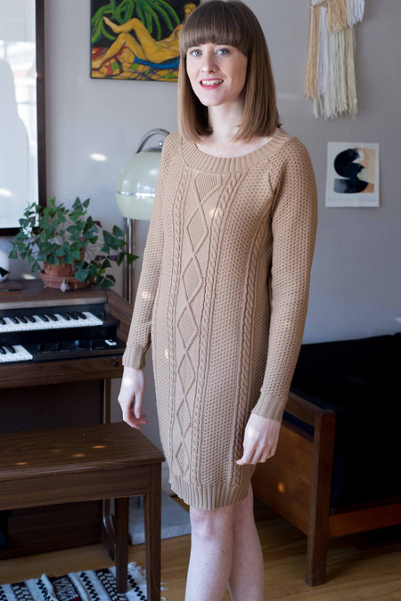 Meemoza Merino Dress (Oatmeal)
