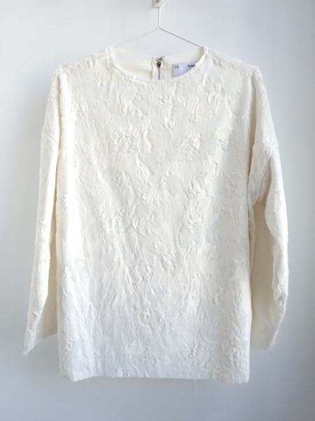 CF.Goldman Oversized Faux Pony Sweater