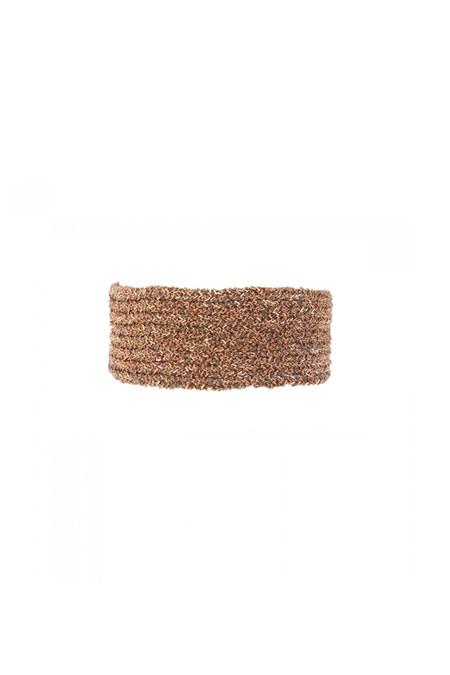 Marie Laure Chamorel Large Crochet Bracelet