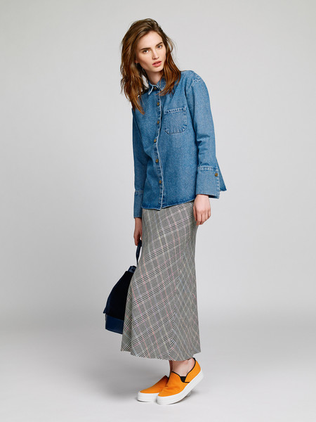 Nanushka Denim Button Up