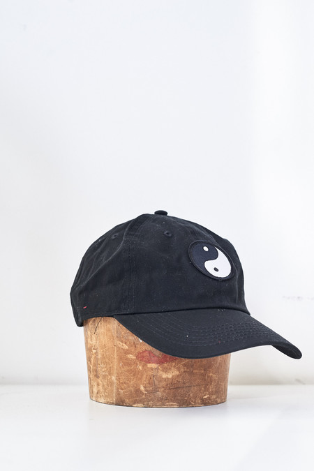 Assembly New York Cotton Ying Yang Hat - Black