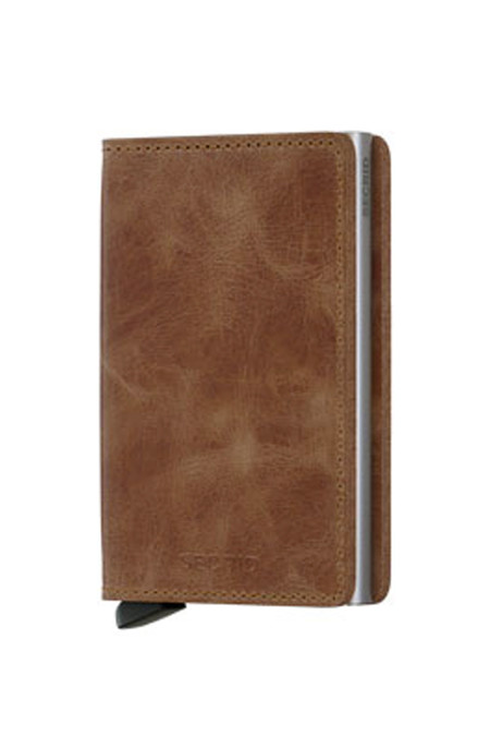 SECRID Slim Wallet | Vintage Cognac