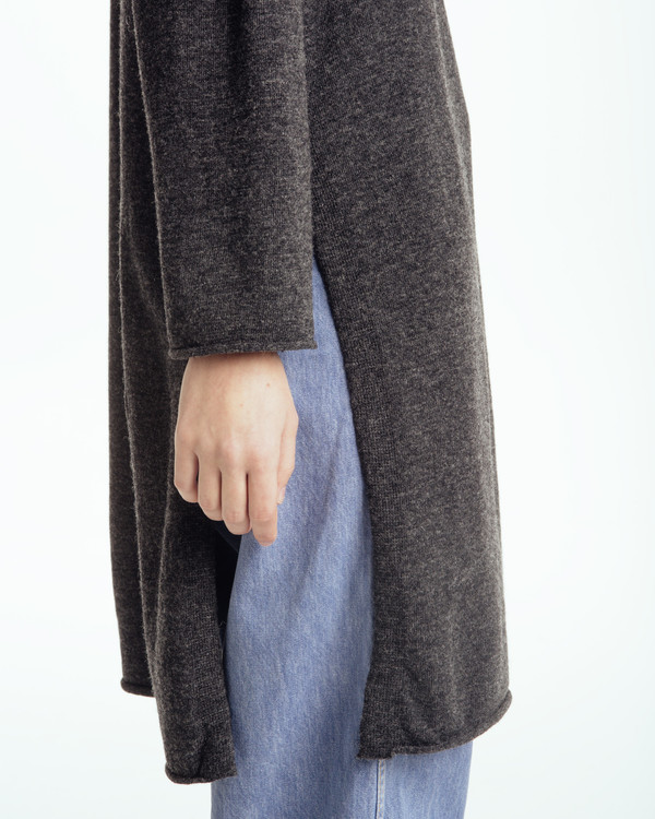 Achro Long Sweater With Slits