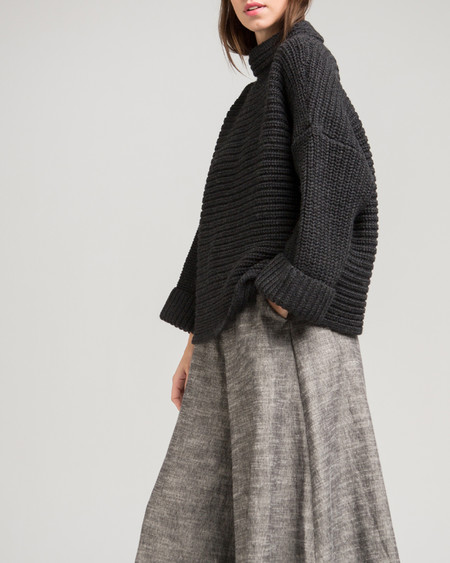 Micaela Greg Parallel Alpaca Pullover