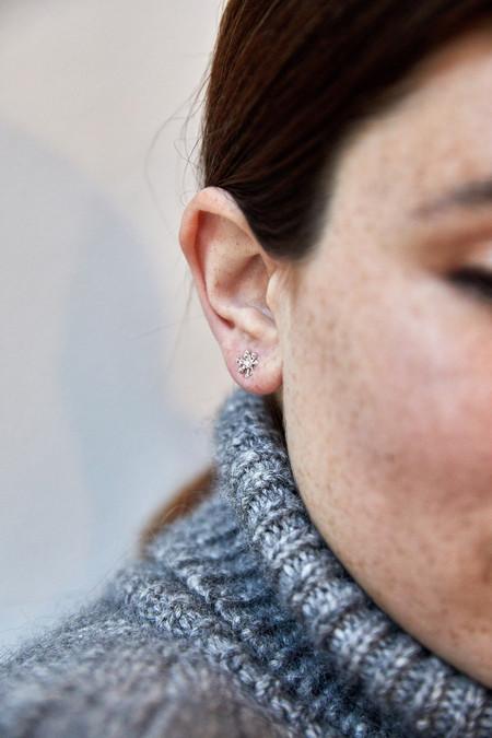 Rebecka Froberg Small Dandelion Studs Silver