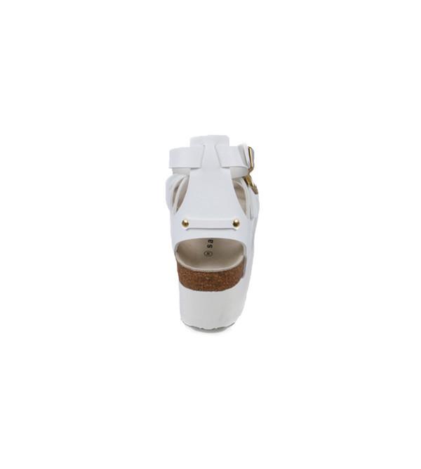 Sacai Luck Leather Multi-Strap Platform Sandals